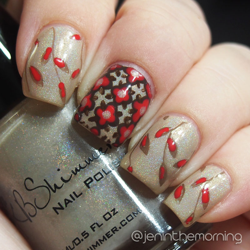 Quatrefoil nails