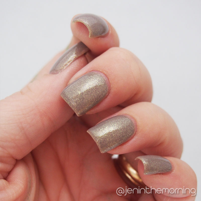 Sinful Colors - Prosecco Swatch - indoor lighting