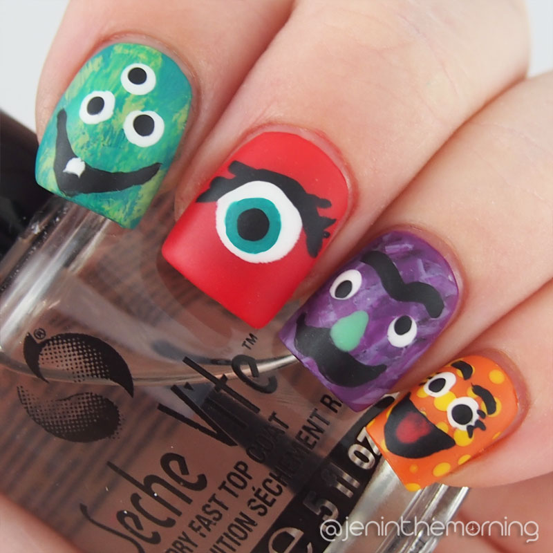 #npclairestelle8 Day 15: Monster Manicure