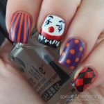 #npclairestelle8 Day 22: Creepy Carnival Mani