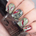 #npclairestelle8 Day 26: Zombie nails