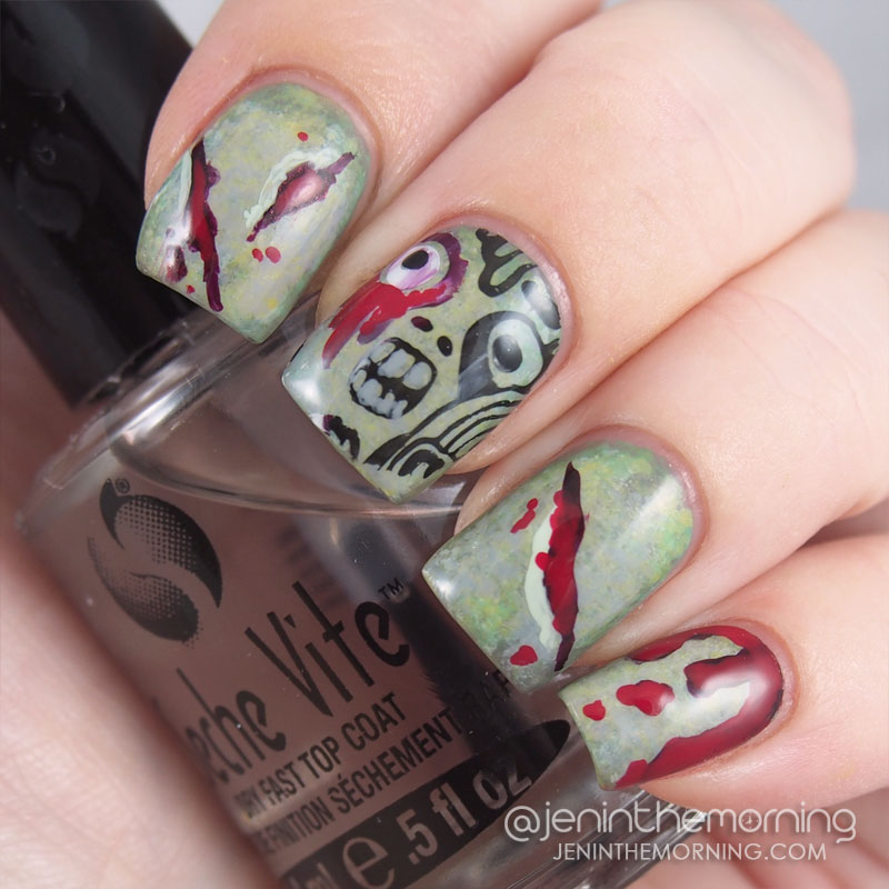 Zombie nails!