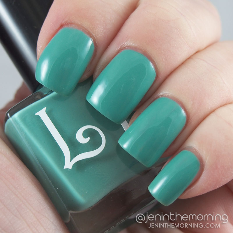 Lucky Lacquer - Mint Daisy