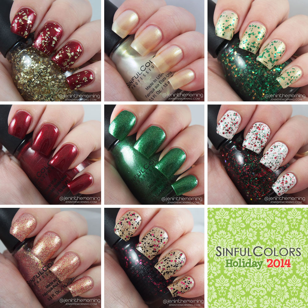 Sinful Colors Holiday 2014 Swatch and Review