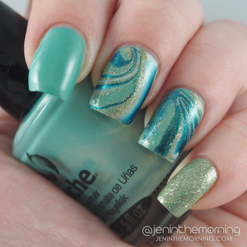 Watery water marble
