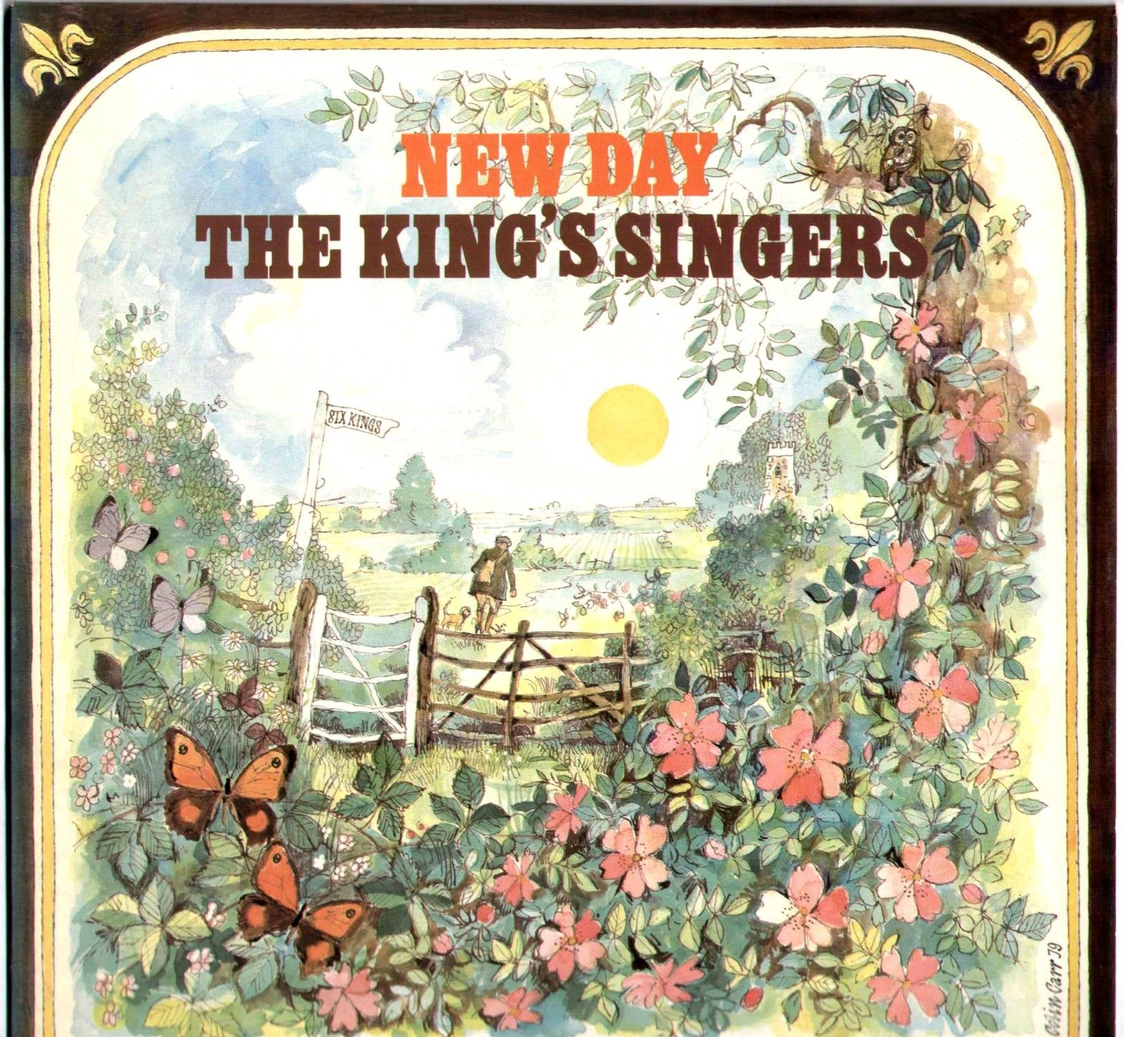 The King's Singers - New Day Album Cover