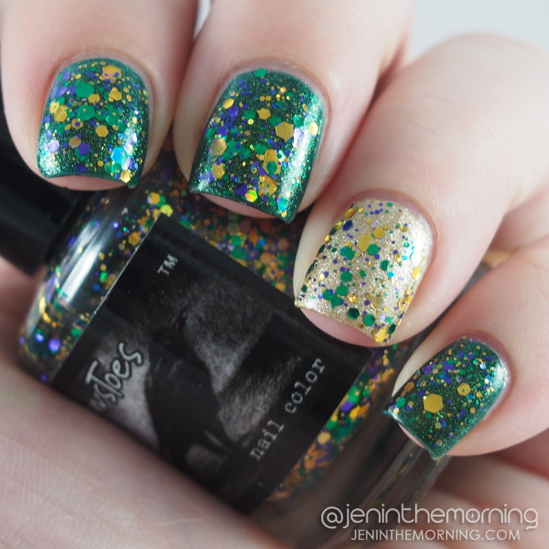 Mardi Gras Nails: Fat Tuesday Fun | jeninthemorning