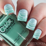 Wateresque Stamped Gradient Nails