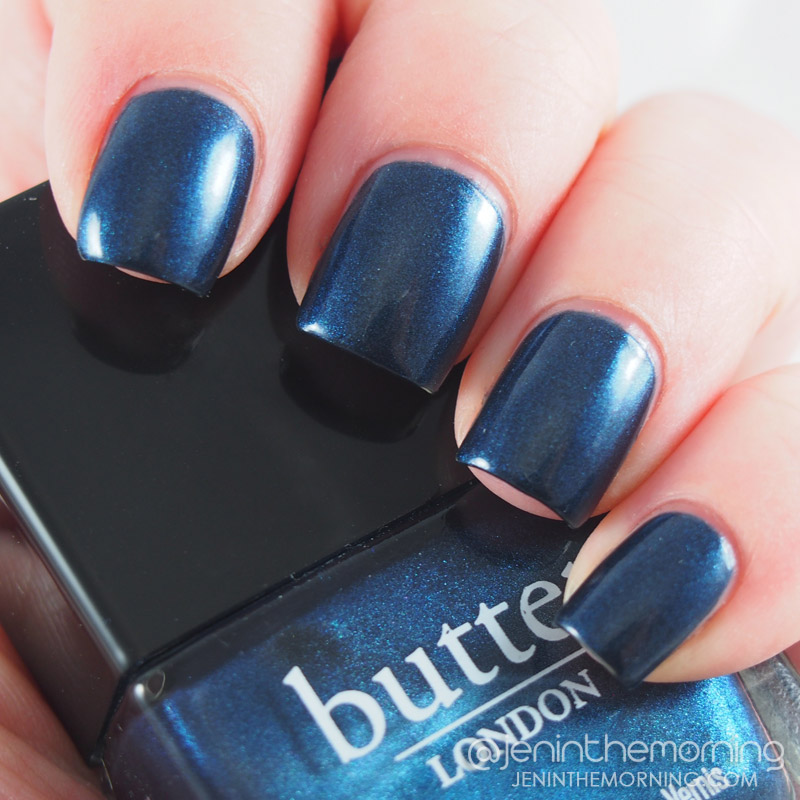 Quick Swatch and Review: Butter London - Big Smoke