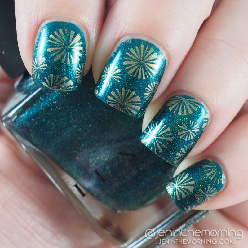 ILP - Fall Semester stamped with M Polish - Apricot Delight
