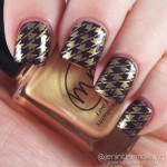 Simple Houndstooth Stamping