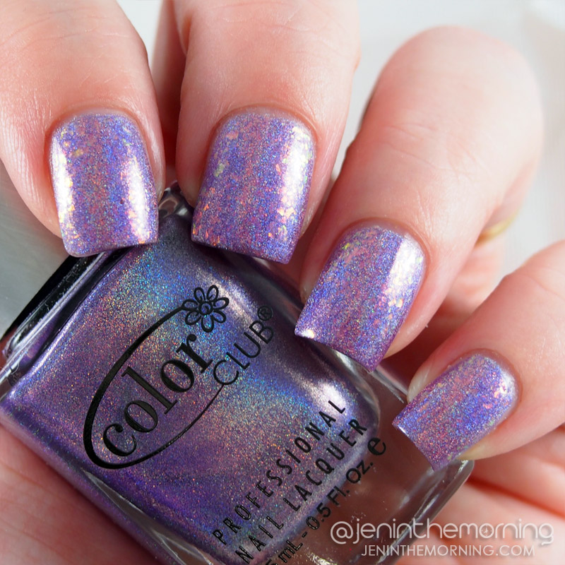 Color Club - Eternal Beauty topped with Essie - Shine of the Times