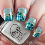 #mommysmanimonday When I Grow Up Nails: Mermaid Scale Nails