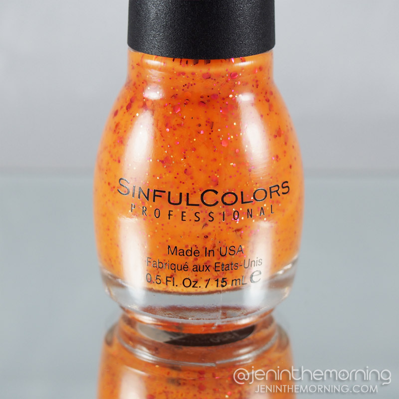 Sinful Colors - Standing Bloom Only