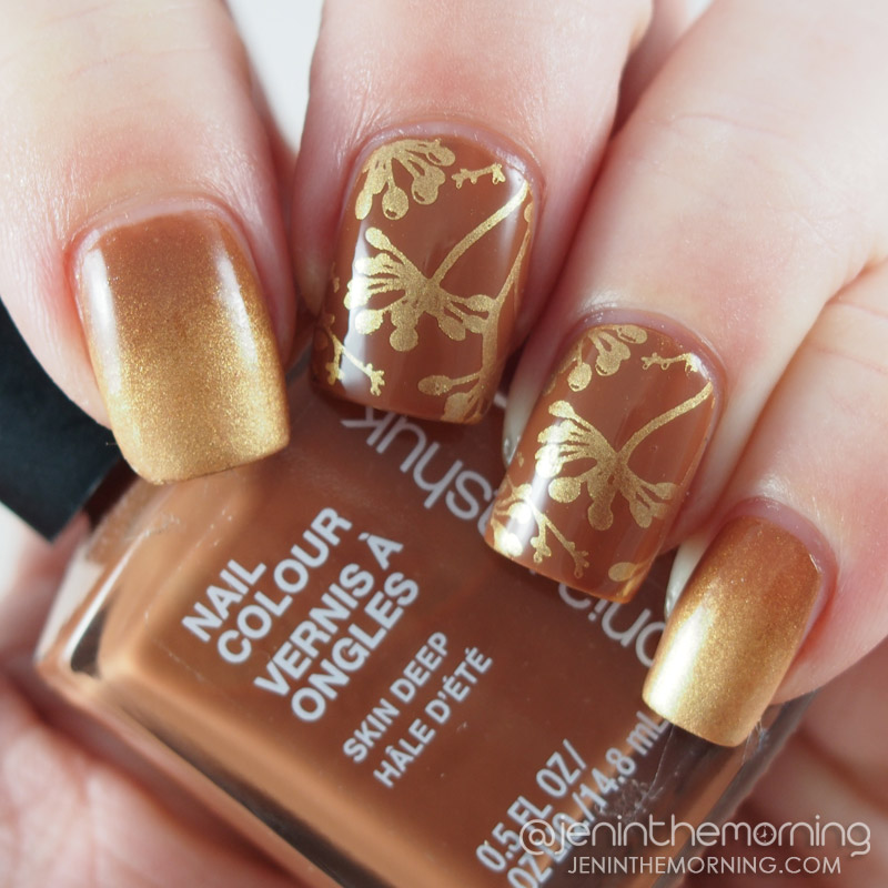 Sonia Kashuk - Skin Deep and M Polish - Apricot Delight
