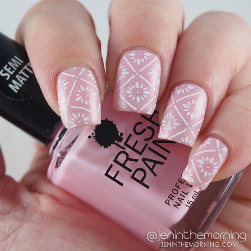 Fresh Paint - Enchanted, stamped