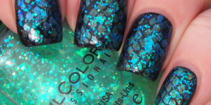 Black Dragon Scale Stamping