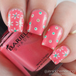 Spring Flowers and Double Dots