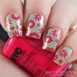 Double Stamping over Color Club – Kismet Holographic