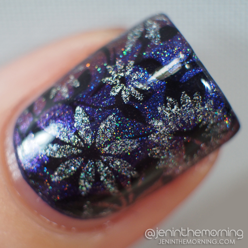 Duochrome holographic gorgeousness - macro shot