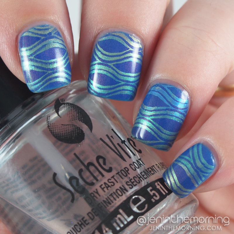 Funky Fingers - Let the Beat Drop, stamped with M Polish