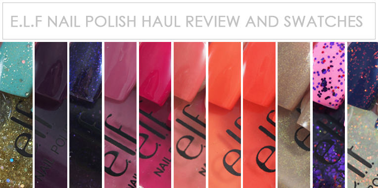 e.l.f. Haul Review and Swatches