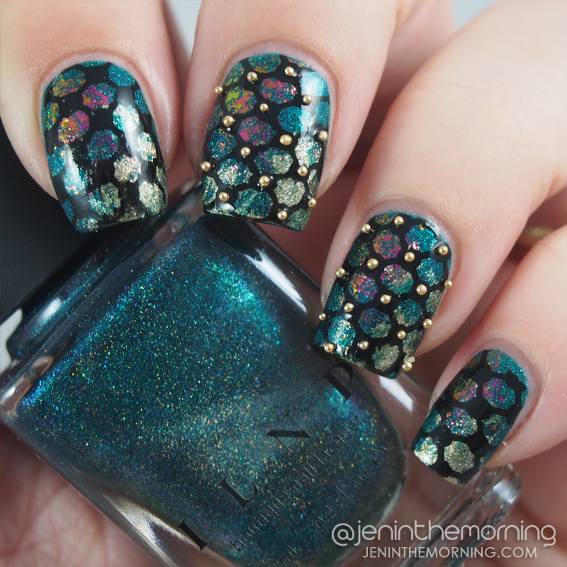 ILNP - Fall Semester w/ drybrush and stamping and caviar bead placement