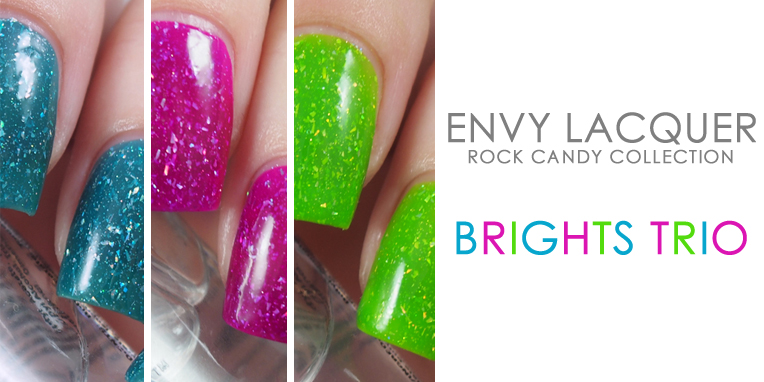Envy Lacquer - Brights Trio