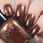 Zoya – Cinnamon: Swatch, Review & Nail Art