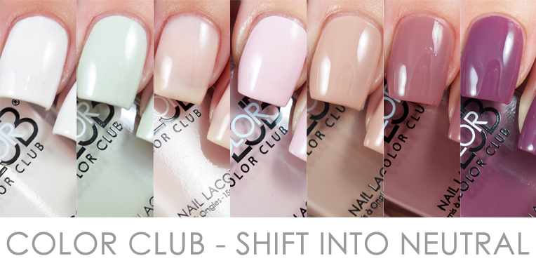 Color Club - Shift Into Neutral Collection