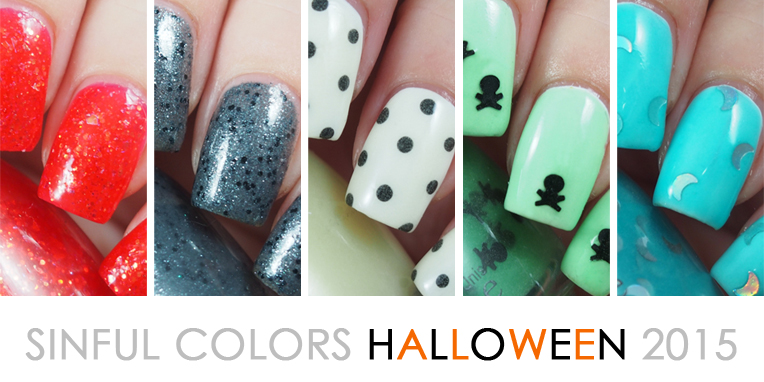 Sinful Colors Halloween 2015