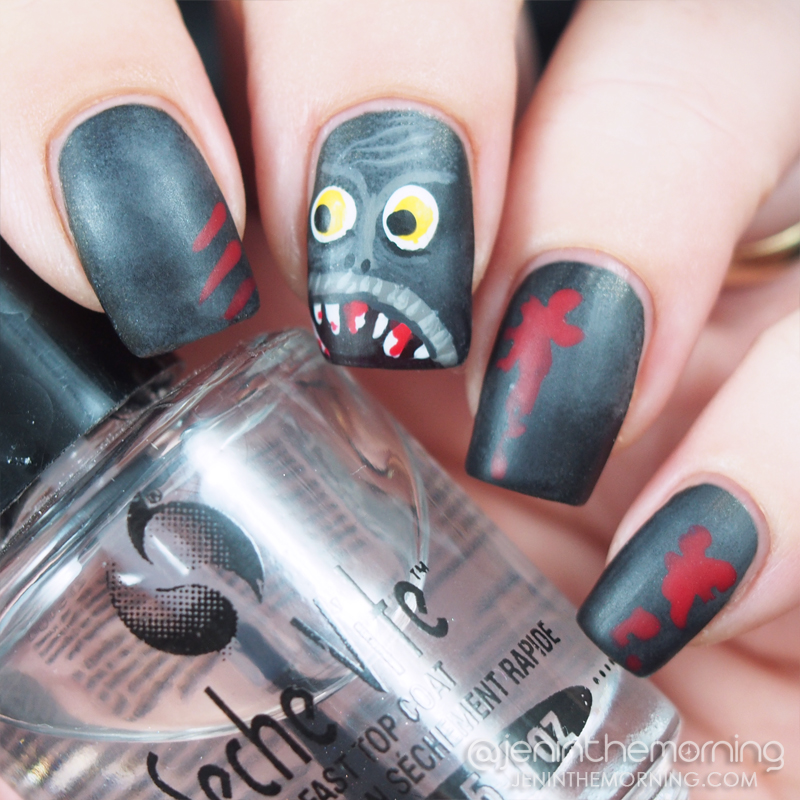 Creepy Monster Mani