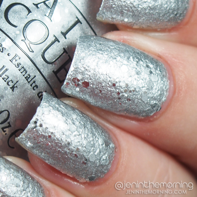 OPI - By the Light of the Moon (sponged on)