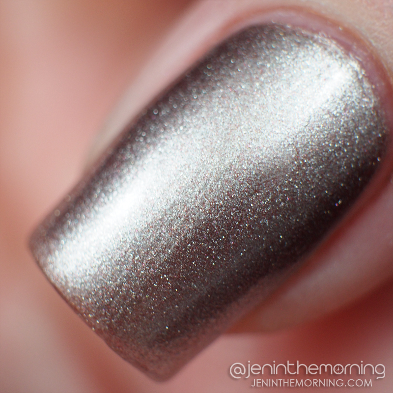 OPI - Press * For Silver (sponged on)