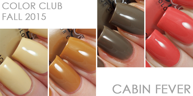 Color Club Fall 2015 Cabin Fever