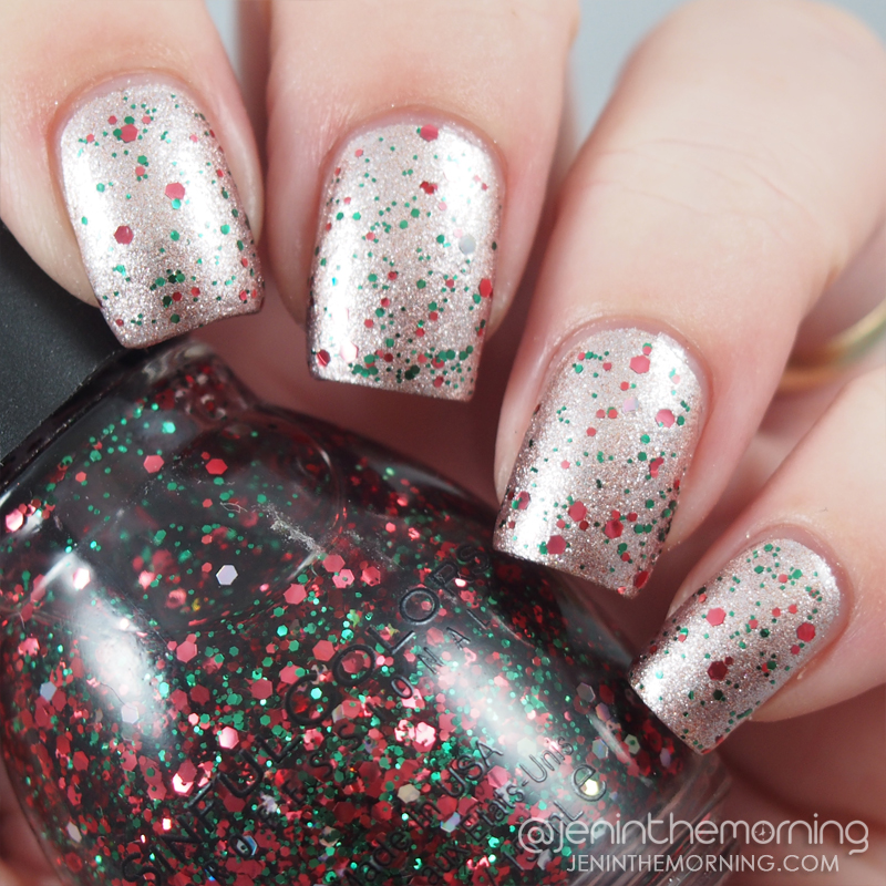 Sinful Colors - Holiday Rebel over Sinful Colors - Supernova