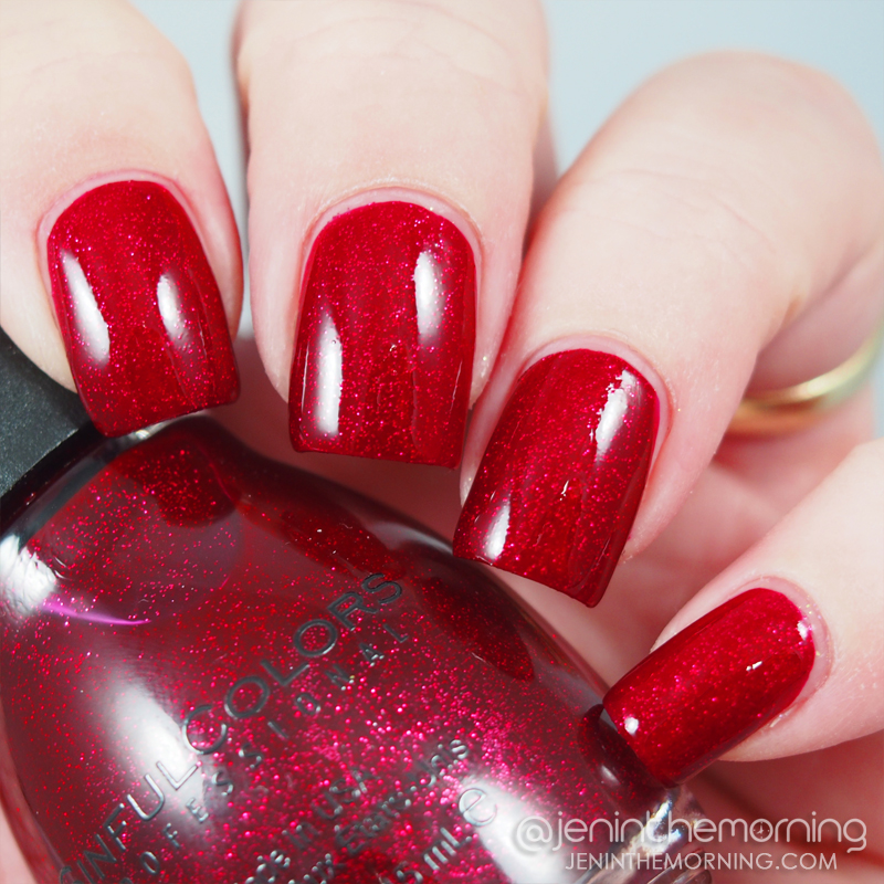 Sinful Colors - Ruby Glisten