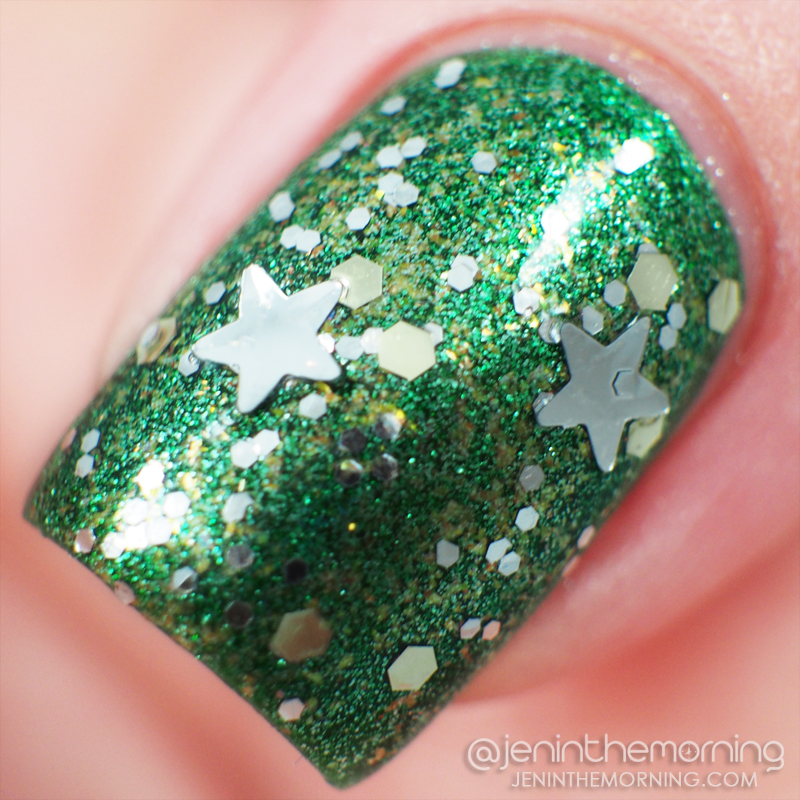 Sinful Colors - Star Studded over Sinful Colors - Pine Away