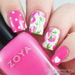 Born Pretty Store Floral Water Slide Decals