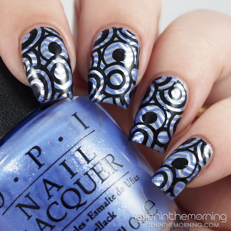 OPI - Show Us Your Tips, stamped