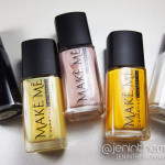 Make Me Cosmetics Collection: Swatch and Review Part 1