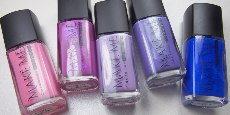 Make Me Cosmetics Collection - Pinks and Purples