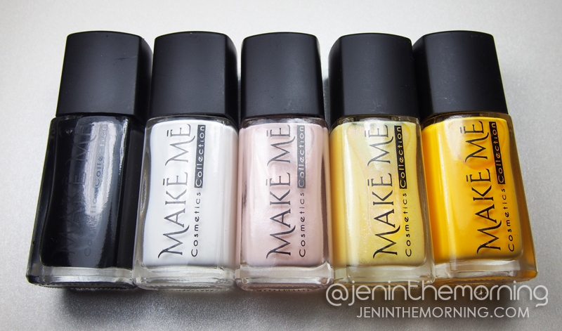 Make Me Cosmetics Collection - Neutrals and Yellows