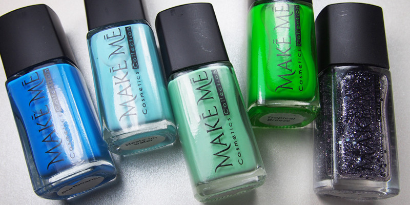 Make Me Cosmetics Collection - Blues and Greens