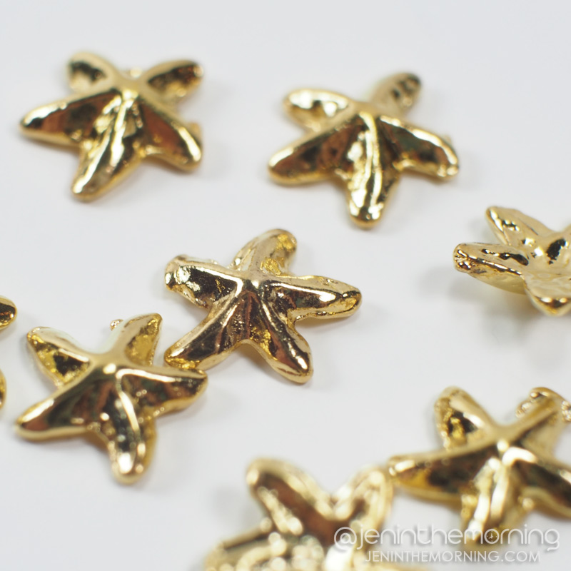 Starfish charms from LadyQueen.com