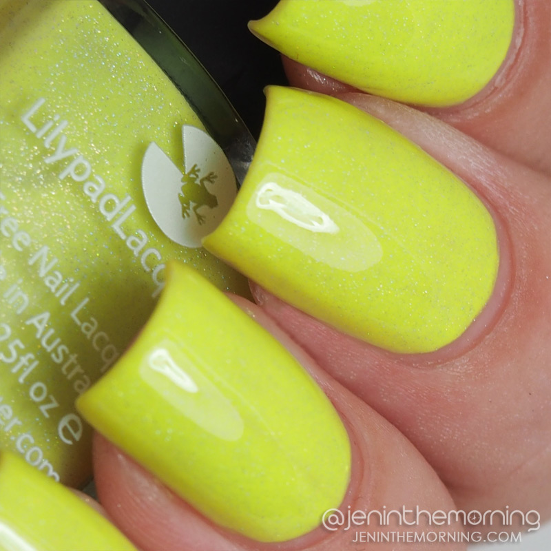 Lilypad Lacquer - Lemon Daiquiri